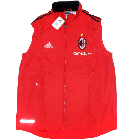 199900 AC Milan Player Issue Padded Training Gilet BNIB L