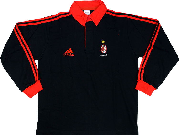 200001 AC Milan Player Issue Rugby Top BNIB XS