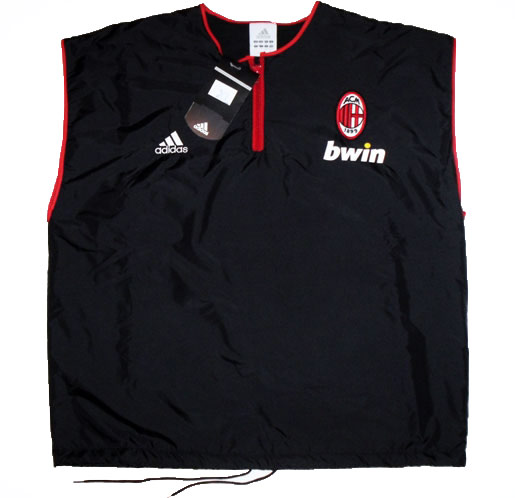 200607 AC Milan Player Issue Training Gilet BNIB