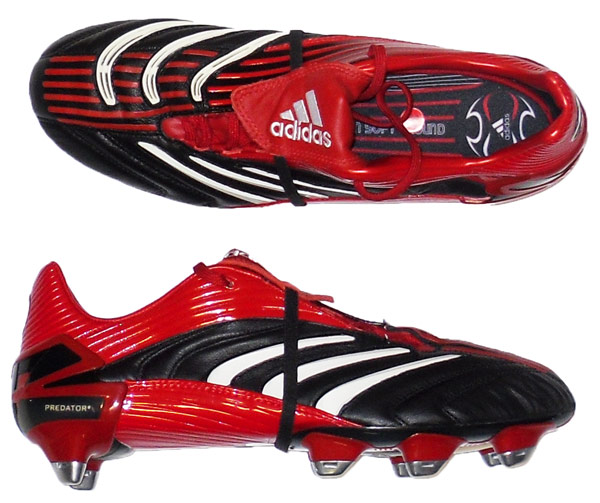 2006 Absolute Adidas Predator Football Boots In Box SG 6
