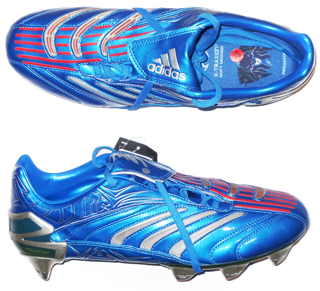 2006 Absolute David Beckham Adidas Predator Football Boots In Box SG