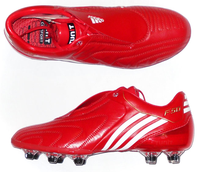 2009 F50 Tunit Leather Adidas Football Boots In Box