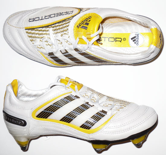 2009 Predator X Adidas Football Boots In Box SG Junior