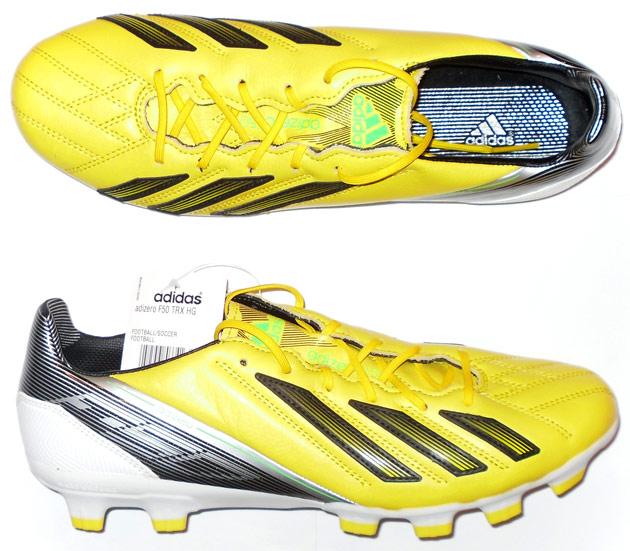 2012 F50 adizero Leather Adidas Football Boots In Box HG