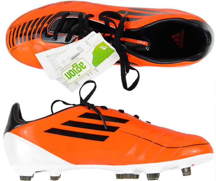2010 Adidas F10 Football Boots In Box FG