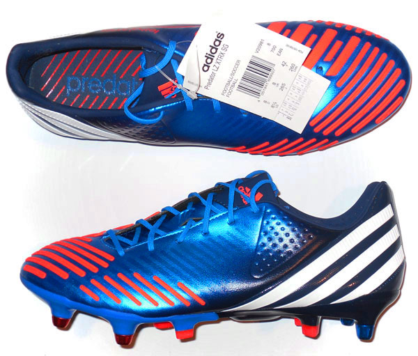 2012 Adidas Predator Lethal Zone Football Boots As New SG 6