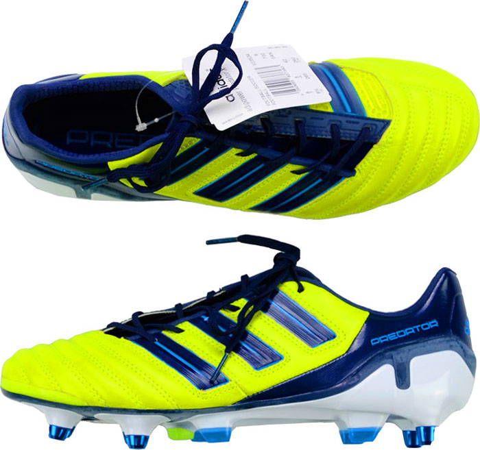 2012 AdiPower Adidas Predator Football Boots In Box SG