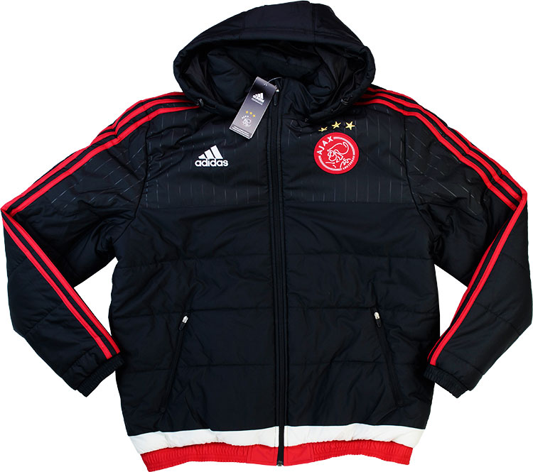 201516 Ajax Adidas Player Issue Padded Jacket BNIB