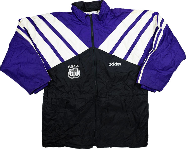 199496 Anderlecht Adidas Bench Coat XL