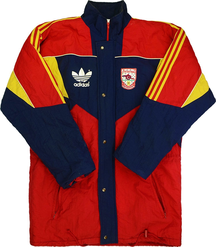 199092 Arsenal Adidas Bench Coat (Excellent) ML