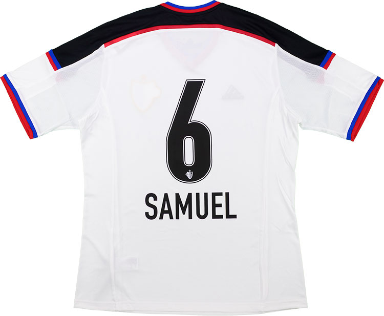 201416 FC Basel Away Shirt Samuel 6 wTags