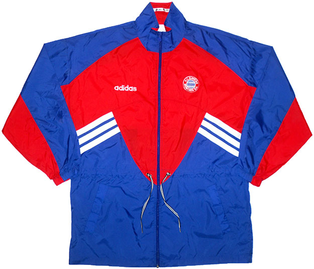199395 Bayern Munich Adidas Rain Jacket (Excellent) XL