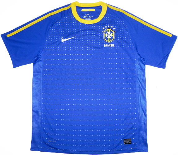 201011 Brazil Away Shirt (Very Good) XL