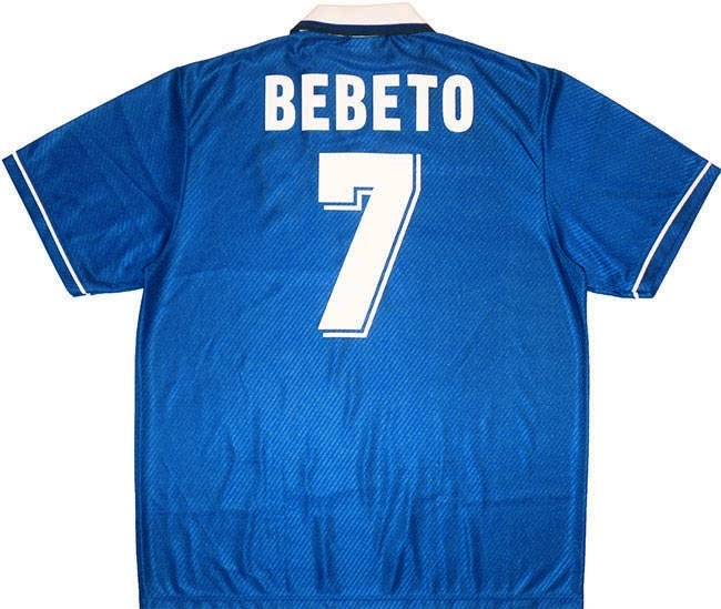 199497 Brazil Away Shirt Bebeto 7 (Excellent) XXL