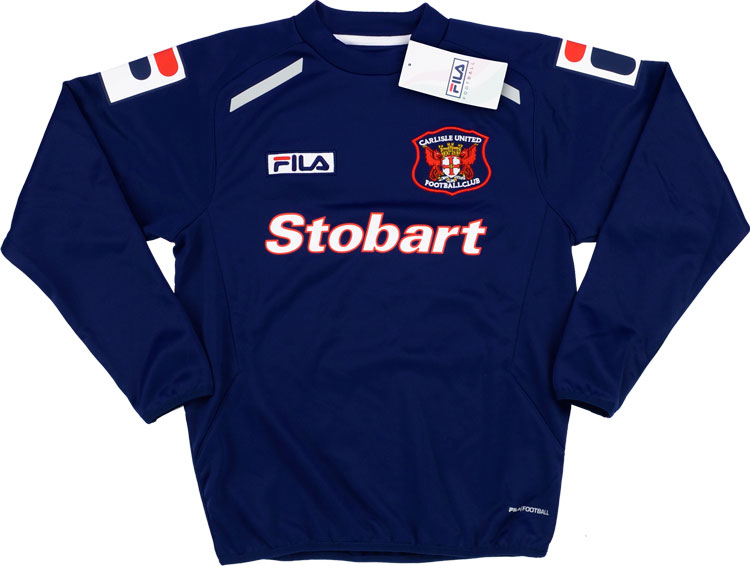 2013-14 Carlisle Fila Training Sweat Top *w/Tags* M.Boys