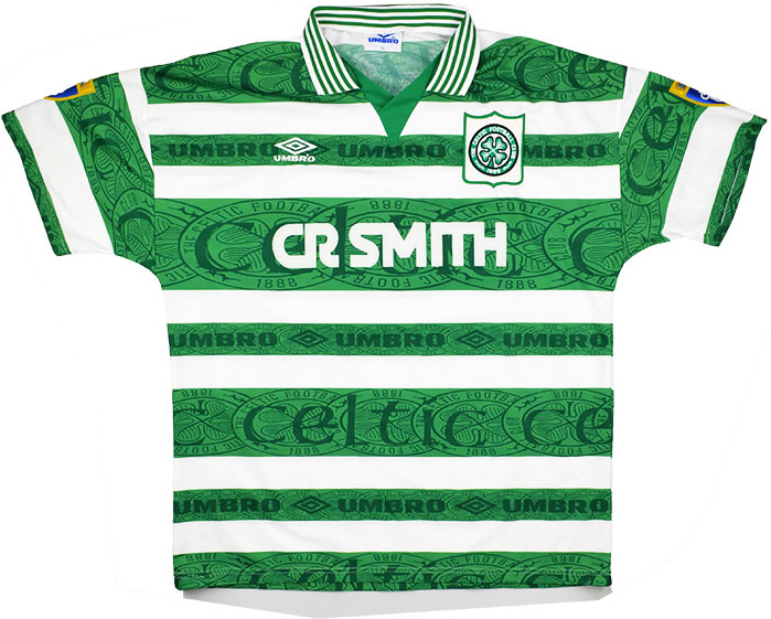 199597 Celtic Match Issue Home Shirt 12