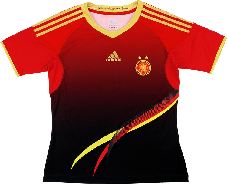 201112 Germany Womens Player Issue Away Shirt (Excellent) L