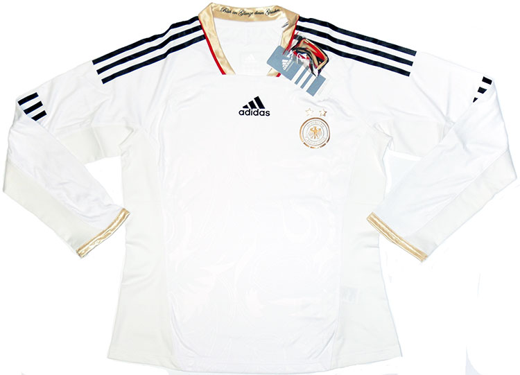201112 Germany Womens Player Issue Home LS Shirt BNIB