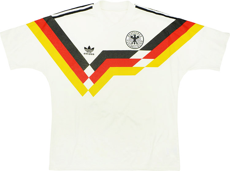 198890 West Germany Home Shirt (Very Good) L