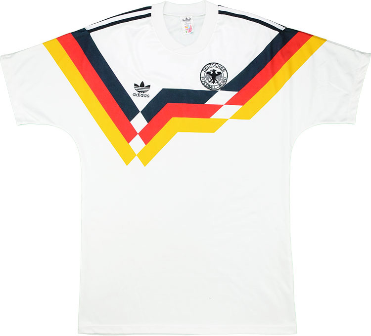 198890 West Germany Home Shirt (Excellent) M