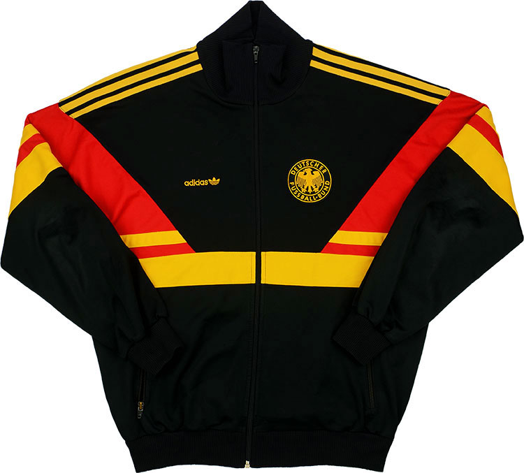 1988-90 West Germany Adidas Track Jacket (Good) XXL