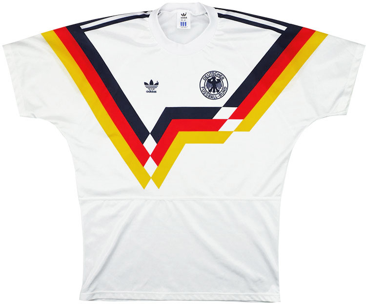 199092 West Germany Home Shirt (Excellent) L