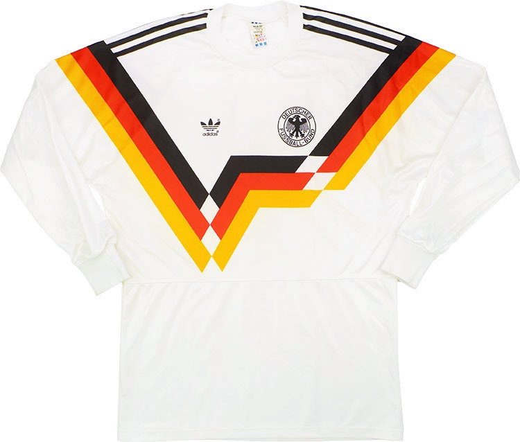 199092 West Germany Home LS Shirt (Good) M