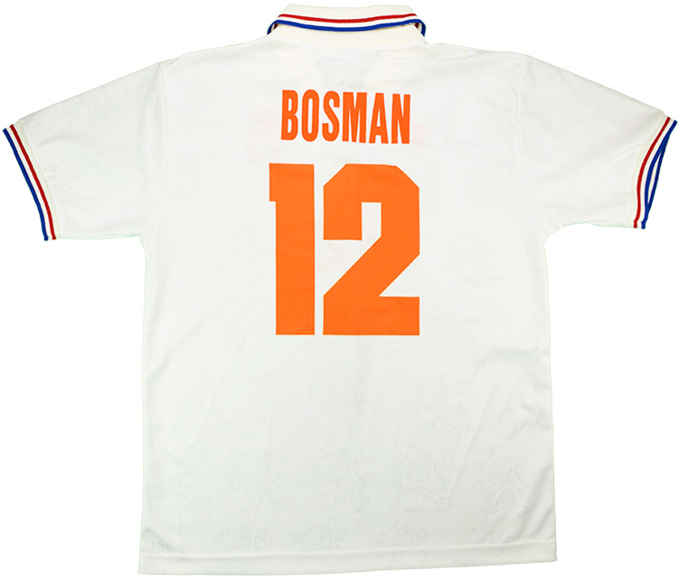 1994 Holland Match Issue World Cup Away Shirt Bosman 12