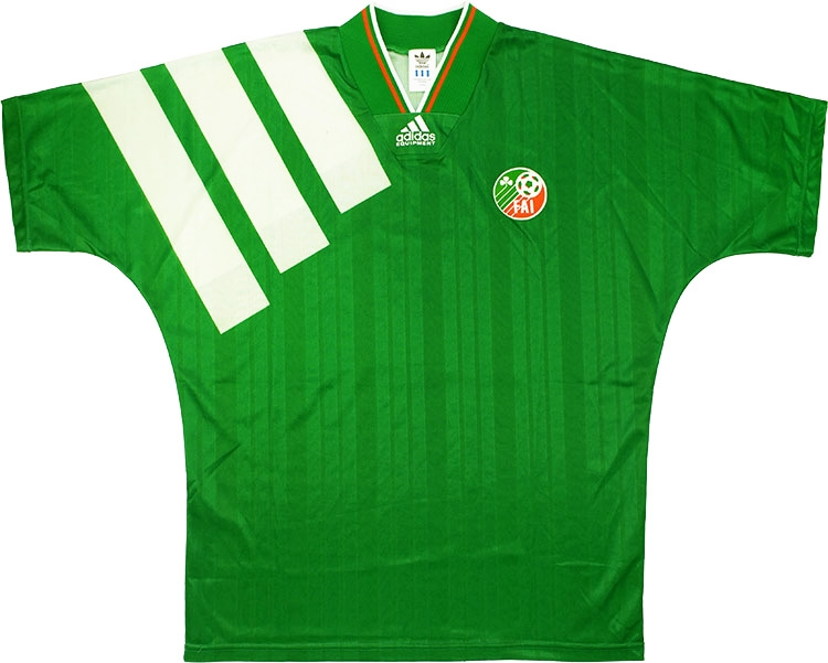 1993 Ireland Match Issue Home Shirt 12 (Whelan) v Lithuania