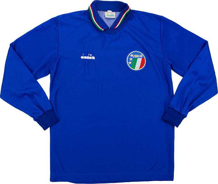 198690 Italy Home Shirt Mint L.Boys