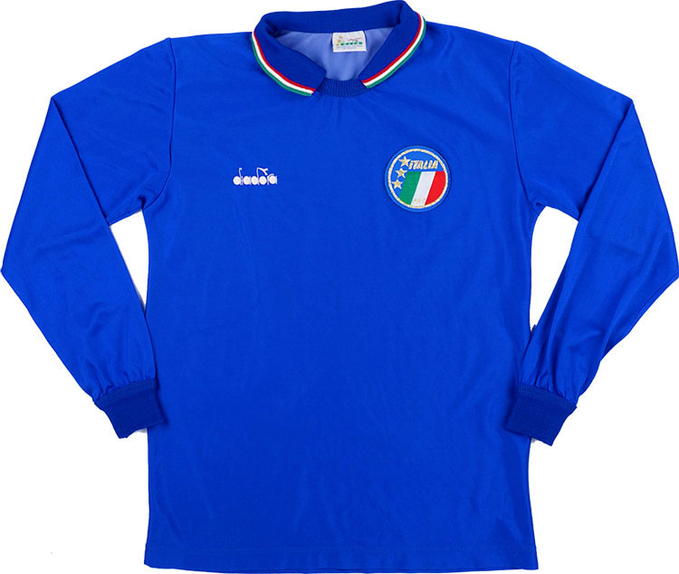 198690 Italy Home LS Shirt (Very Good) L