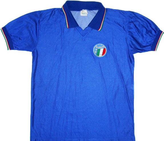 198690 Italy Home Shirt (Good) L