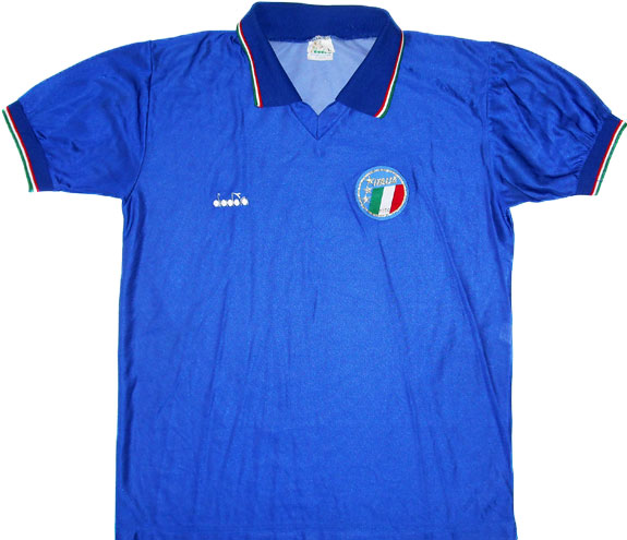 198690 Italy Home Shirt (Fair) M