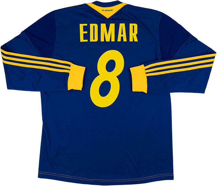 201314 Metalist Kharkiv Player Issue Away LS Shirt Edmar 8 wTags