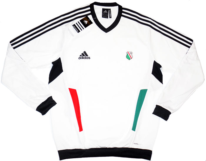 201112 Legia Warsaw Adidas Training Sweat Top BNIB