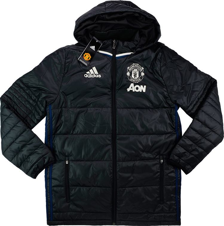 201617 Manchester United Adidas Padded Jacket BNIB BOYS