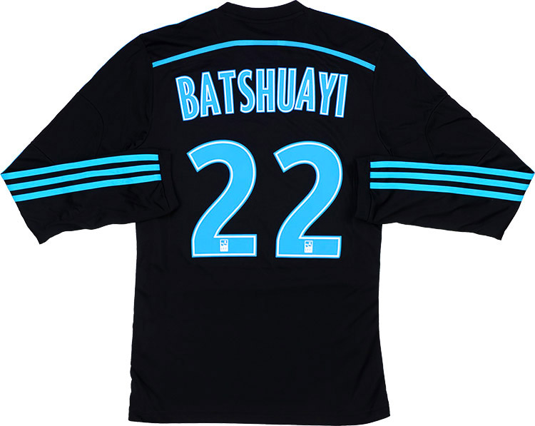 201415 Olympique Marseille Third LS Shirt Batshuayi 22 wTags S
