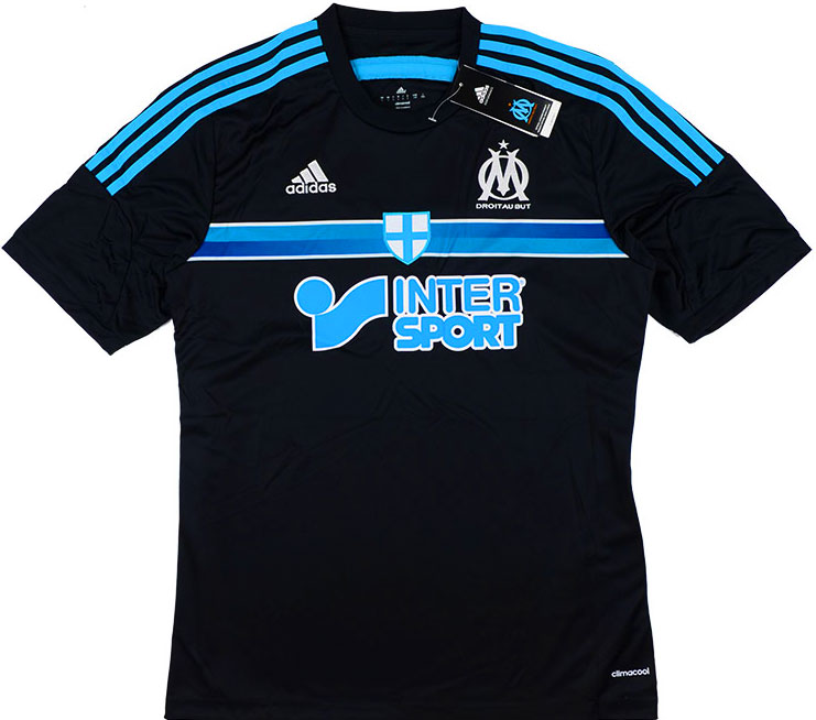 201415 Olympique Marseille Third Shirt BNIB XS