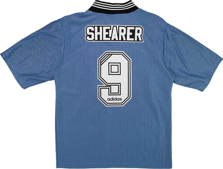 199697 Newcastle Away Shirt Shearer 9 wTags XL