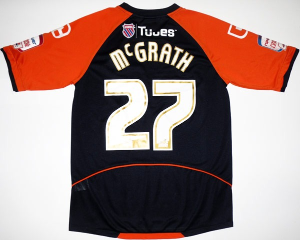 201011 Oldham Match Issue Away Shirt McGrath 27 M