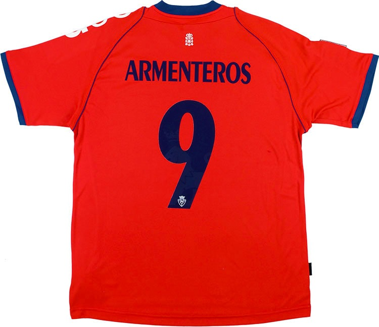 201213 Osasuna Home Shirt Armenteros 9 wTags