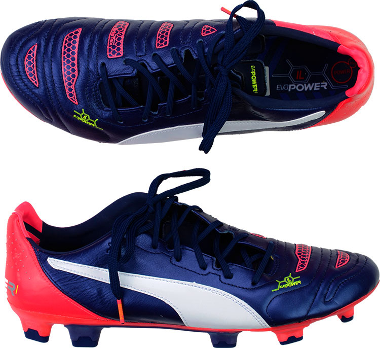 2015 Puma evoPOWER 1.2 Leather Football Boots In Box FG