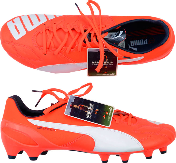 2014 Puma evoSPEED 1.4 Leather Football Boots In Box FG