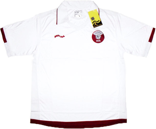 200810 Qatar Away Shirt BNIB
