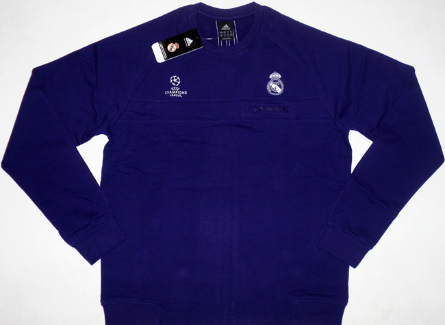 201011 Real Madrid Adidas CL Sweat Top BNIB XXL