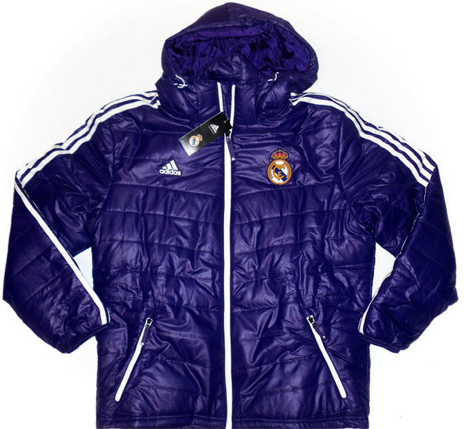 201213 Real Madrid Adidas Padded Jacket BNIB