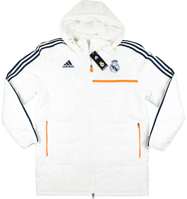 201314 Real Madrid Player Issue Padded Jacket BNIB