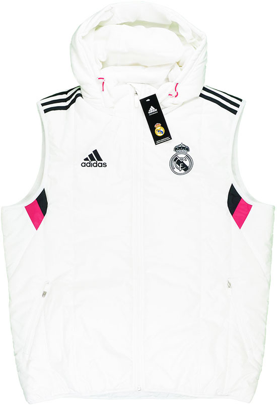 201415 Real Madrid Adidas Padded Gilet BNIB