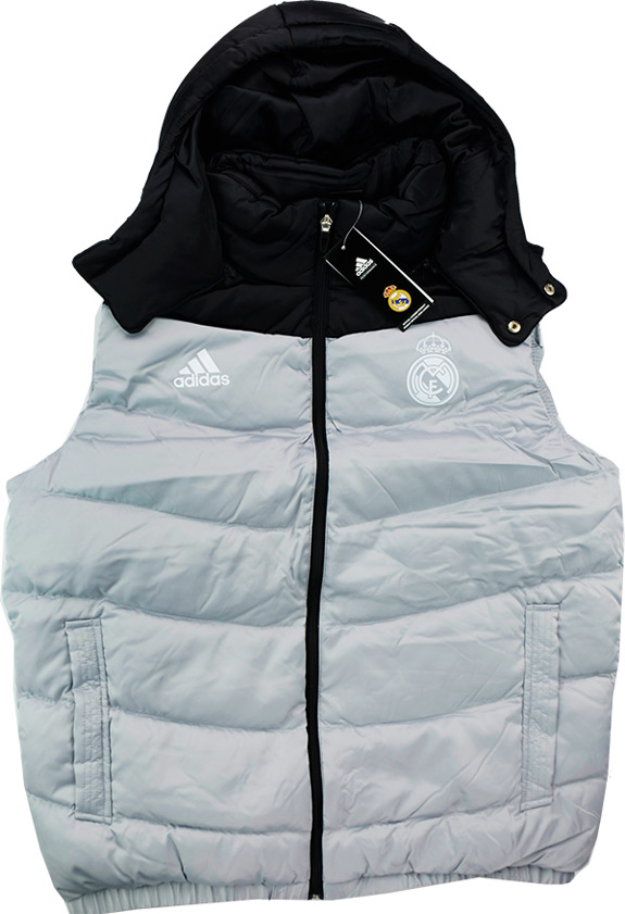 201516 Real Madrid Adidas Padded Down VestGilet BNIB