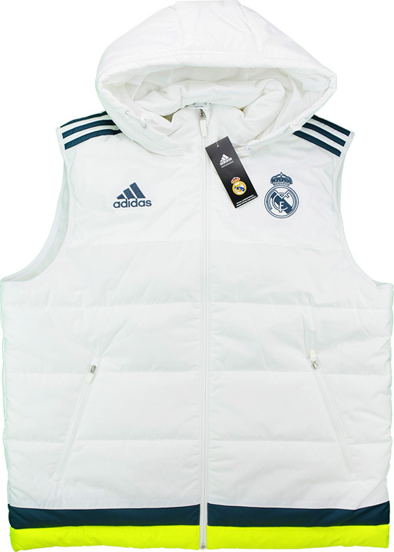 201516 Real Madrid Adidas Padded VestGilet BNIB